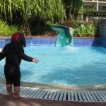 ターザのスライダー!グアムのおすすめプールでみんな満足!