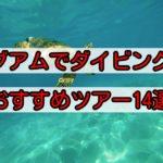 グアムのダイビングツアーで海を満喫しよう!初心者にもおすすめのプランをご紹介!